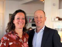 Joanna Nabarro en Jan van der Horst